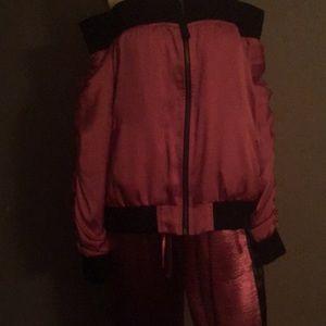Warm up suit